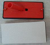 Τριβίδι Γυαλόχαρτου Κονταριού  Lamioplast Με Αφρώδες Ελαστικό